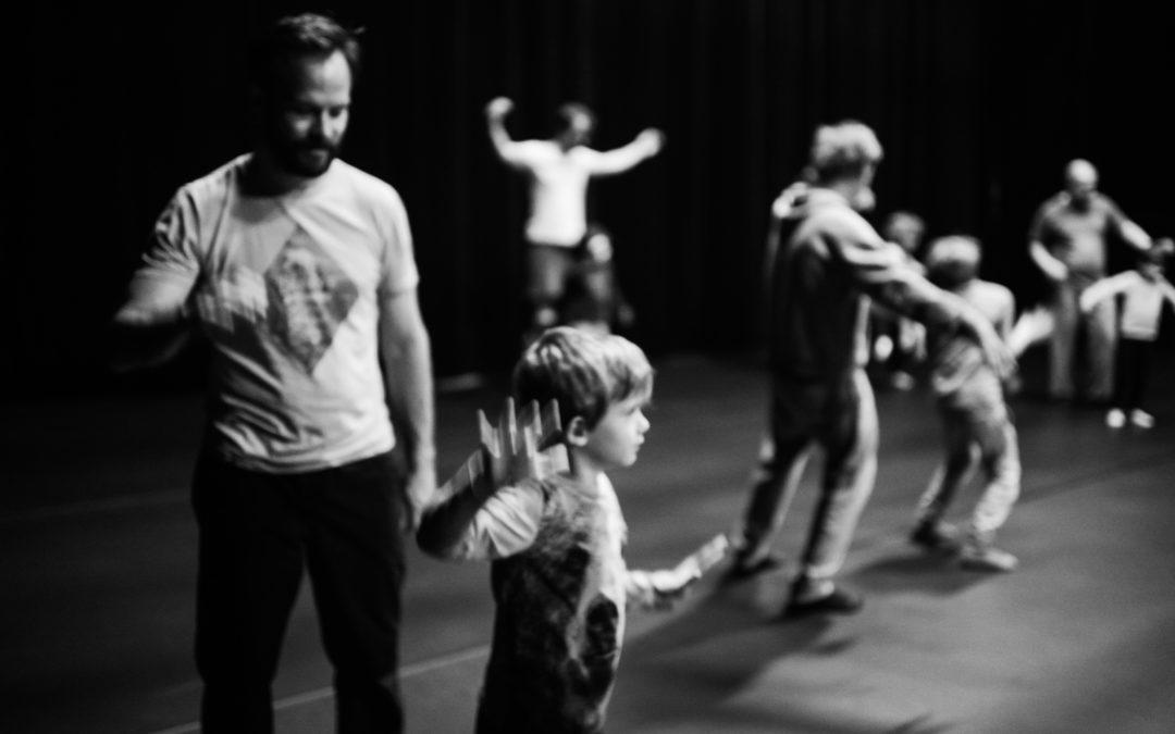 Fathers-children workshop in London